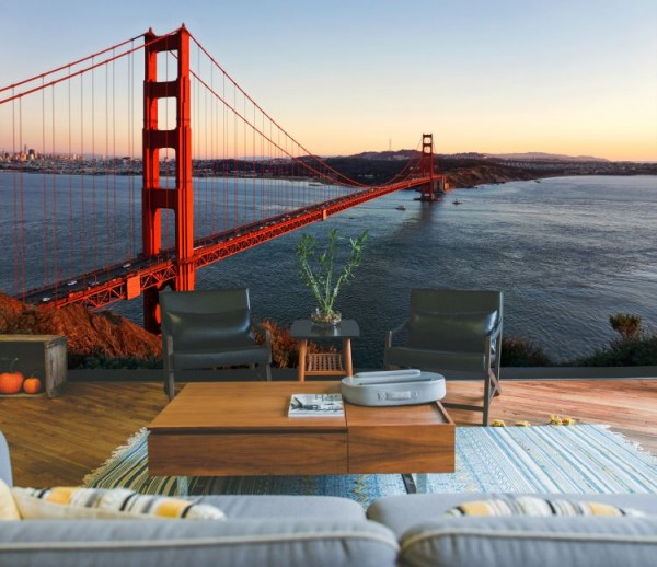 "Design - Fotowand ""Golden Gate Bridge"""